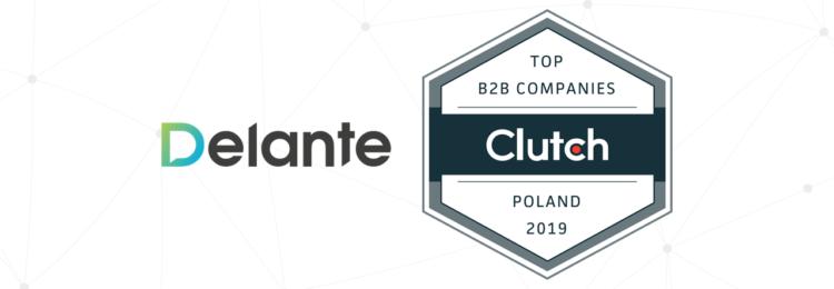 Delante najlepszą firmą SEO w Polsce według Clutch