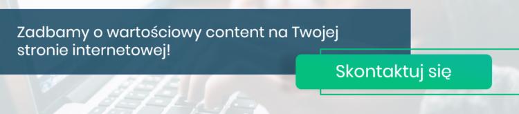 dobrej jakości content na stronie internetowej