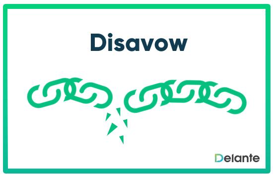 Disavow definicja