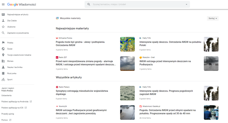 Jak zgłosić stronę do google news?