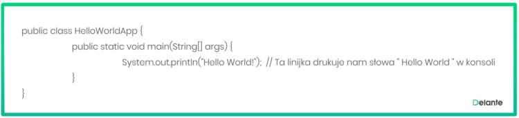 przykład użycia języka java