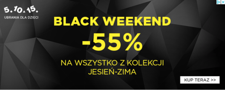 Black Friday reklama
