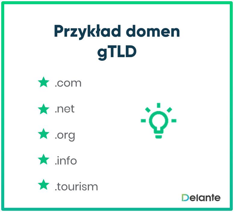 gTLD - domena funkcjonalna: czym jest?