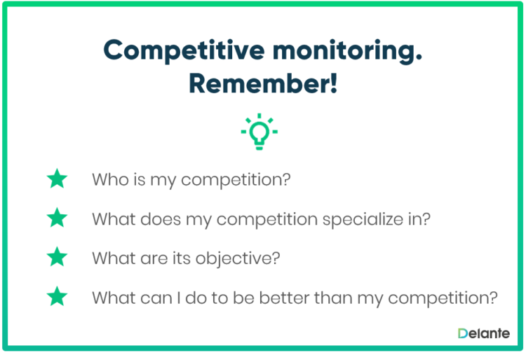 Competitive monitoring - rules