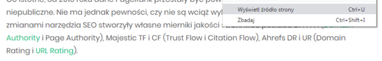 Jak sprawdzić czy link jest dofollow czy nofollow?