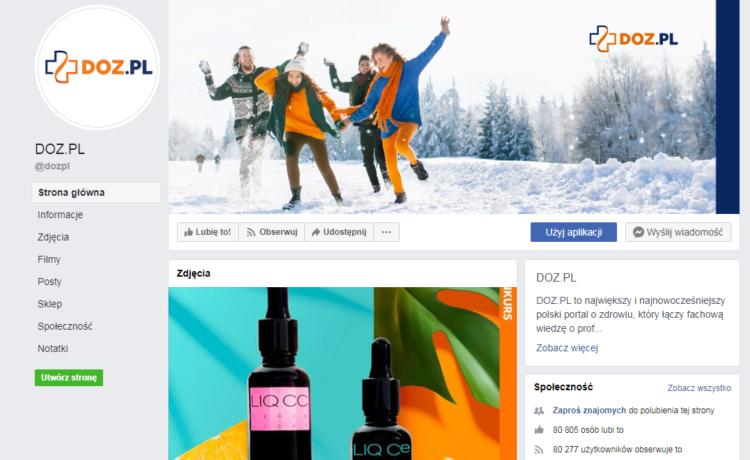 Social media branża farmaceutyczna