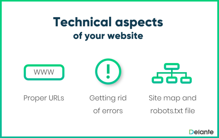 Technical aspects of your website