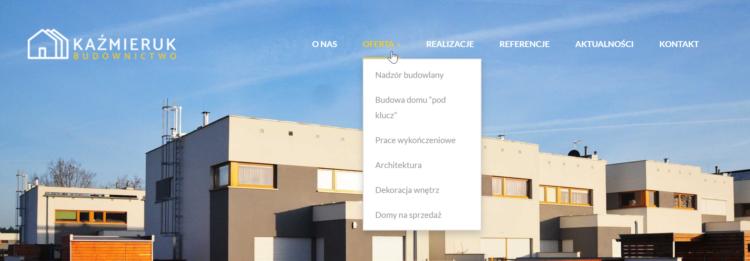 Branża budowlana - pozycjonowanie strony internetowej