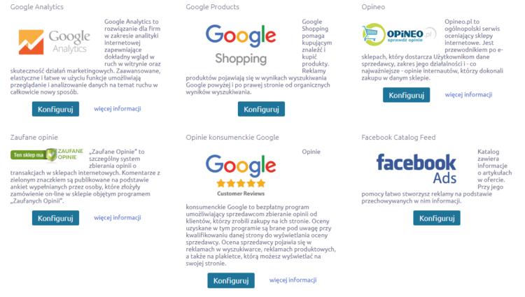 Integracja narzędzi analitycznych na platformie Shoper