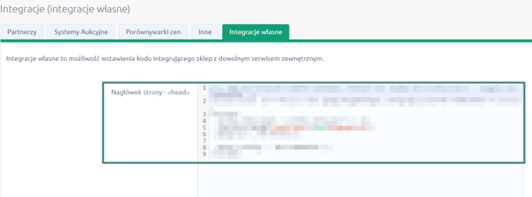 Integracja Google Search Console na platformie Shoper