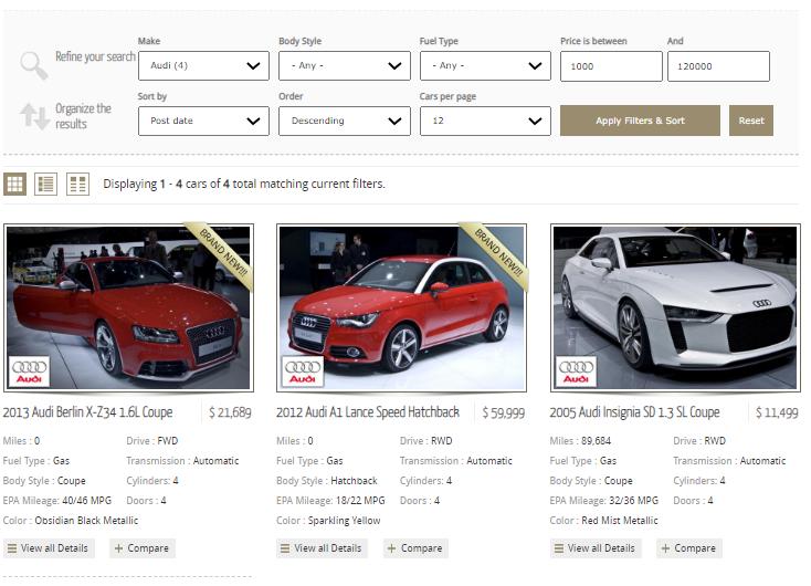 optimizing for a car model