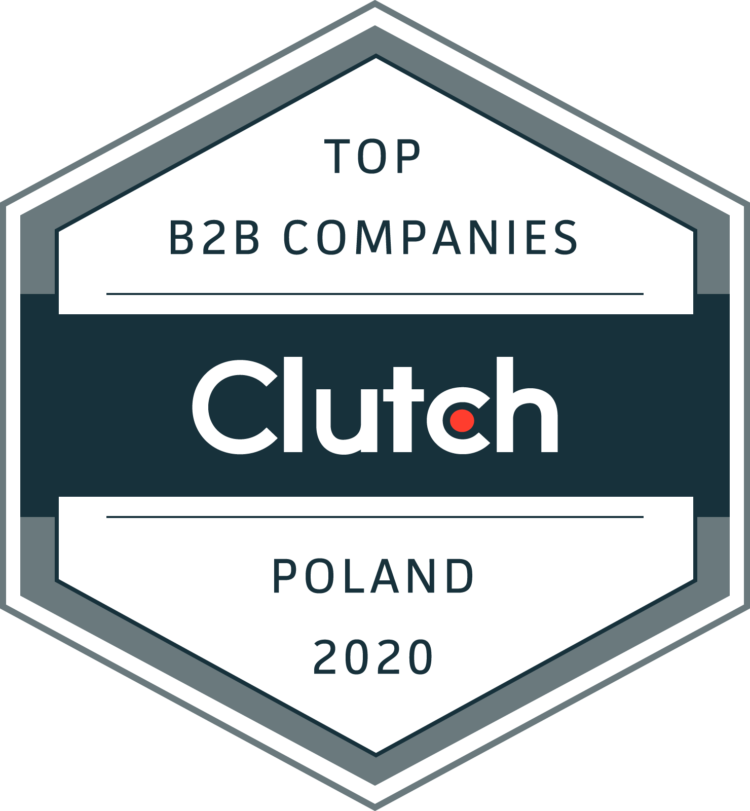 Top B2B Companies in Poland 2020 - Clutch badge