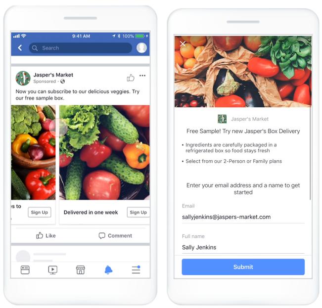 Facebook Ads - pozyskiwanie kontaktów