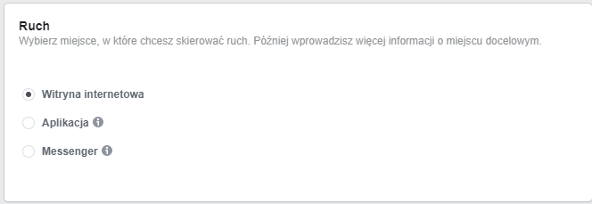 Ruch - Facebook Ads