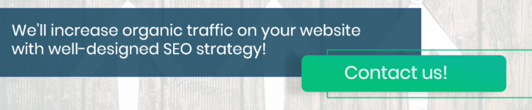 Increase organic traffic on your website with Delante