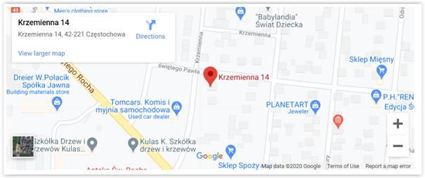 mapa google a przeniesienie biznesu do sieci