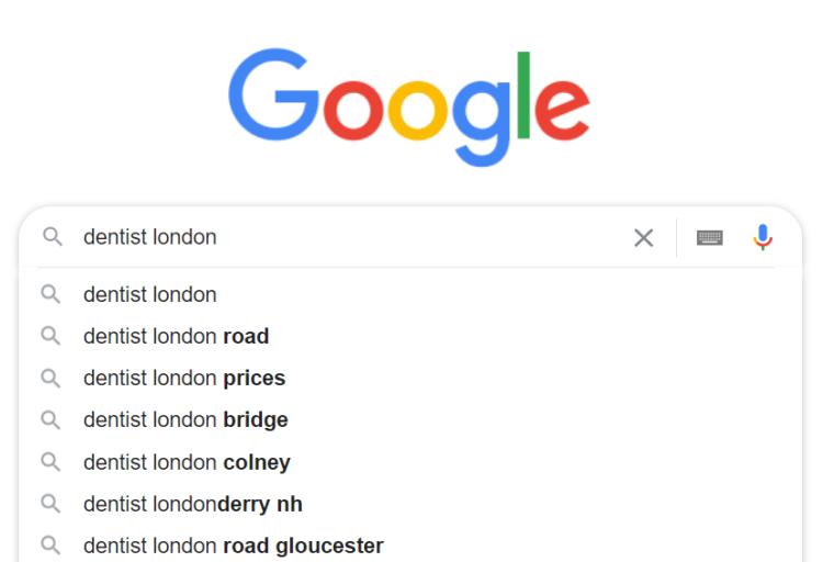 Google Autosuggestion Keyword research
