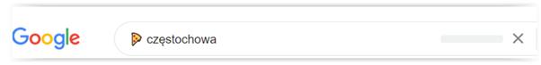 wyszukiwanie w google pizza częstochowa