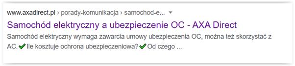 zastosowanie emoji w meta description
