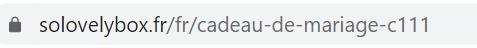 url addresses update seo for french market case