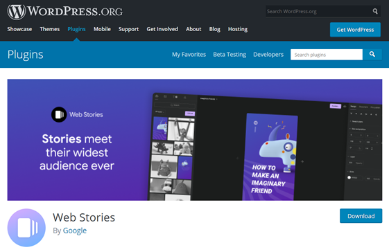web stories wordpress