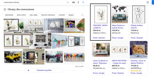 Case study Google Ads - PLA reklama