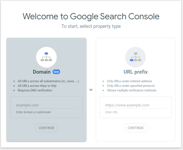 how to authorize google search console