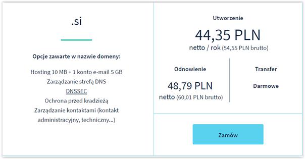 seo na słowenii a domena