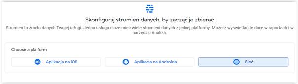 podłączenie google analytics do strony instrukcja