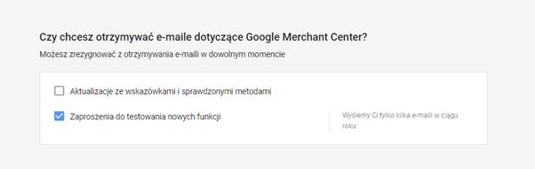 tworzenie konta google merchant center