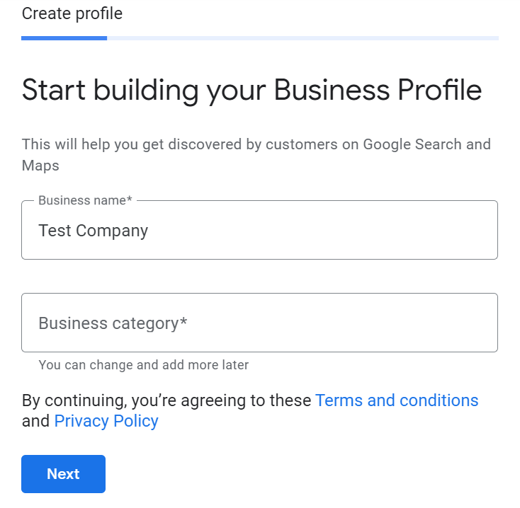 google my business company profile guide