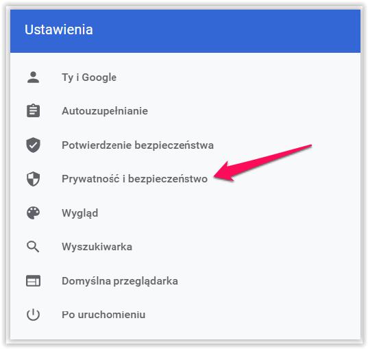 javascript wyszukiwarka chrome