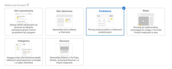 kampania produktowa pla google ads