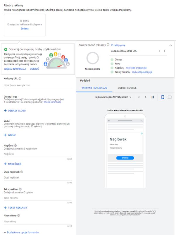 instrukcja tworzenia kampanii remarketingowej w google ads