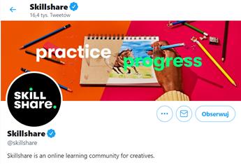 smo przykład twitter skillshare