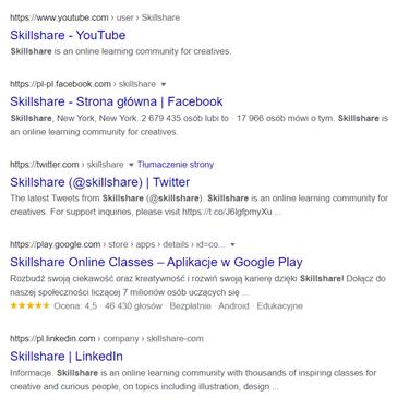 social media optimization przykład