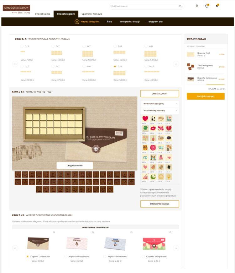 konfigurator produktu e-commerce
