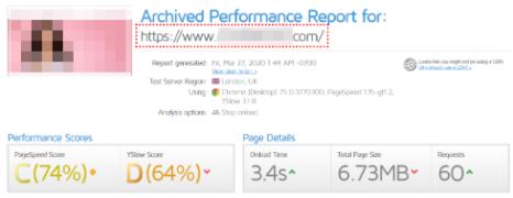 wordpress website speed up before cooperation