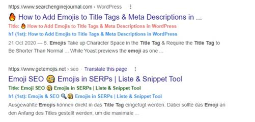 Google zmienia sposób generowania title przykład