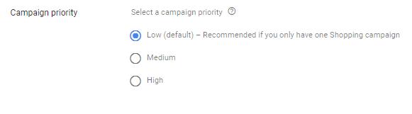 pla campaign priority