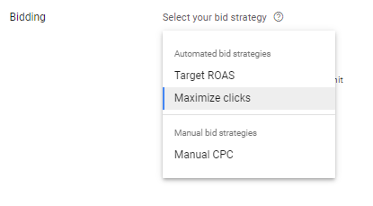 bidding methods in product listing ads